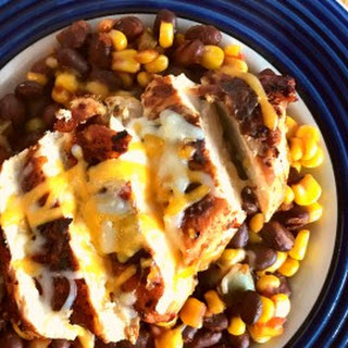 Southwest Blackened Chicken and Beans Recipe