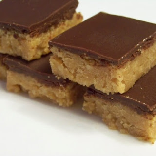 "Low Carb ""Peanut Butter Cup"" Squares"