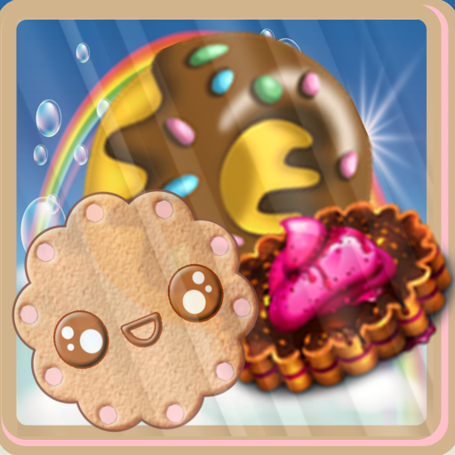 Cookie jam of candy land