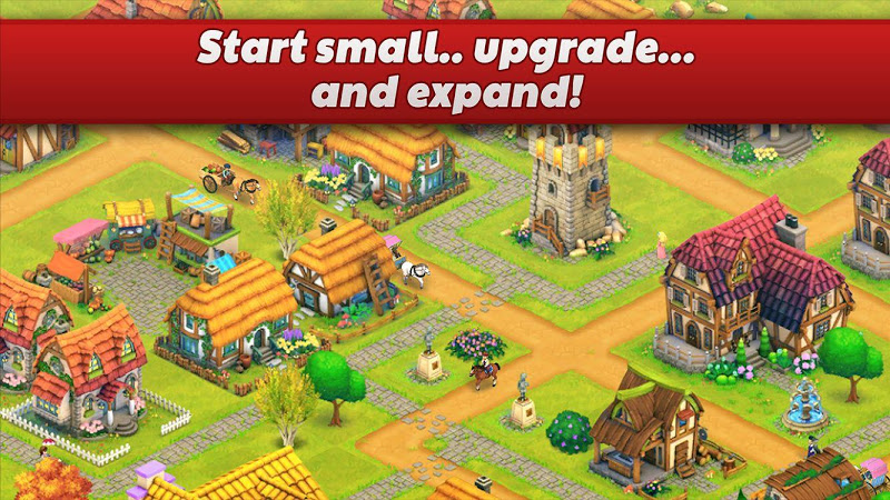 Town Village: Farm, Build, Trade, Harvest City Screenshot 3