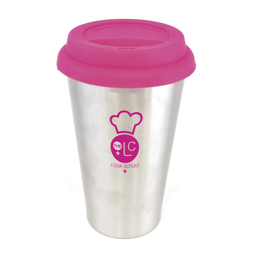 Stainless Steel Take Out Mug (Pink)