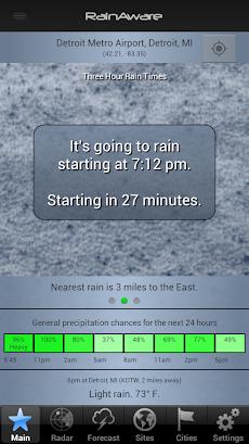 RainAware Weather Timerのおすすめ画像4