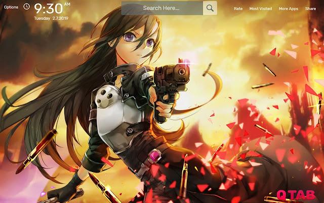 Sword Art Online Wallpapers New Tab Theme