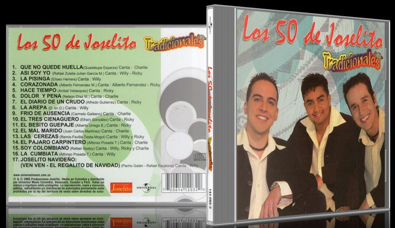 Los 50 De Joselito - Tradicionales (2005) [MP3 @320 Kbps]