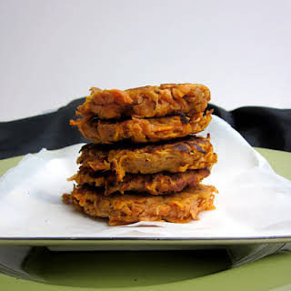 2-ingredient Sweet Potato Fritters.