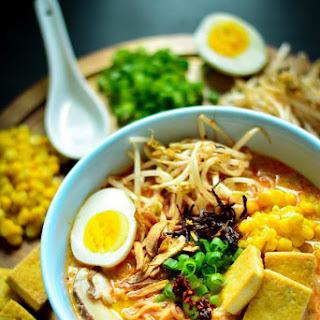 Vegan Spicy Ramen Noodles.