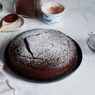 No-Measure Chocolate Cake.