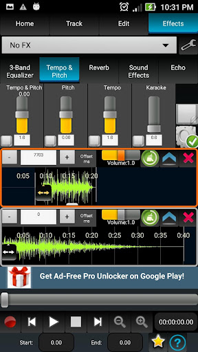 AudioDroid : Audio Mix Studio 2.8.3 screenshots 7