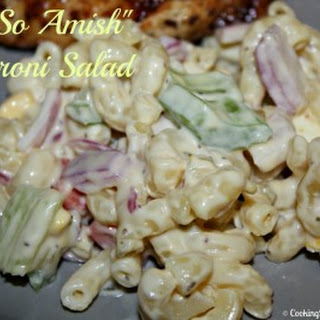 """Not So Amish"" Macaroni Salad"