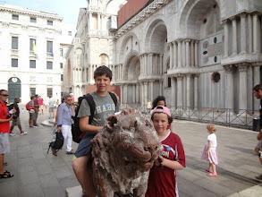 Photo: Entering Piazza San Marco