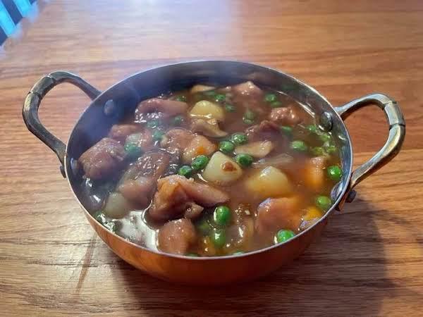 Japanese Golden Chicken Curry