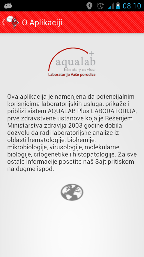 AQUALAB- screenshot