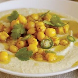 Moroccan Whole Chickpea Hummus.