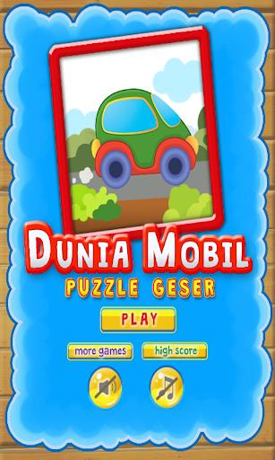 Dunia Mobil Puzzle Geser
