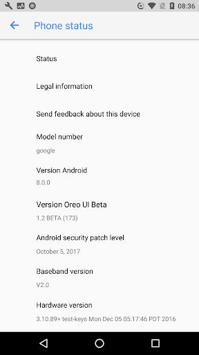 Oreo UI for Android BETA 1.2 screenshots 6