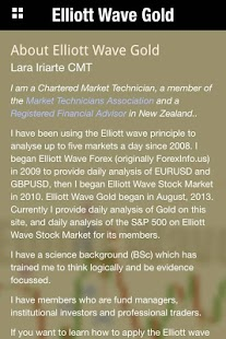 Elliott Wave Gold- screenshot thumbnail