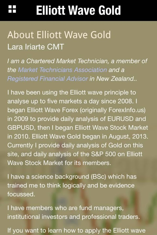 Elliott Wave Gold- screenshot