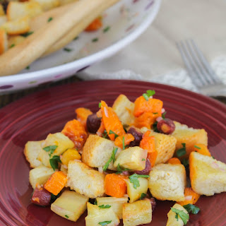 Roasted Root Vegetable Panzanella Salad