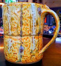 Photo: Mug (2 in this glaze), Fiddlehead at Four Corners, 338 Main Street, Bennington, Vermont (802) 447-1000 www.getartbehappy.com