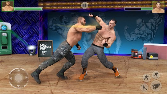 Bodybuilder Fighting Games: Gym Wrestling Club PRO 2