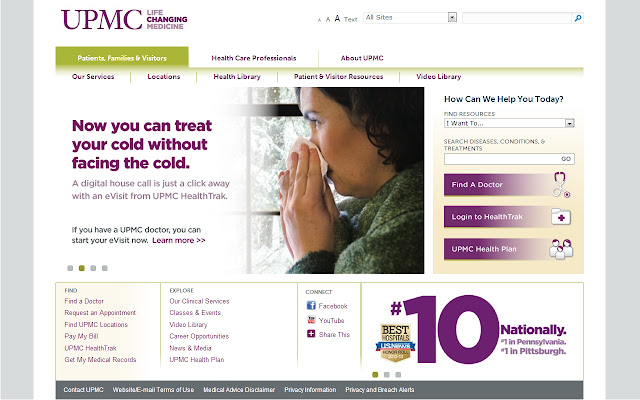 UPMC - Life Changing Medicine