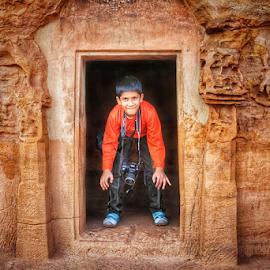 Framed kid by Amrita Bhattacharyya - Babies & Children Children Candids (  )