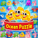 Ocean Match-3 Puzzle icon