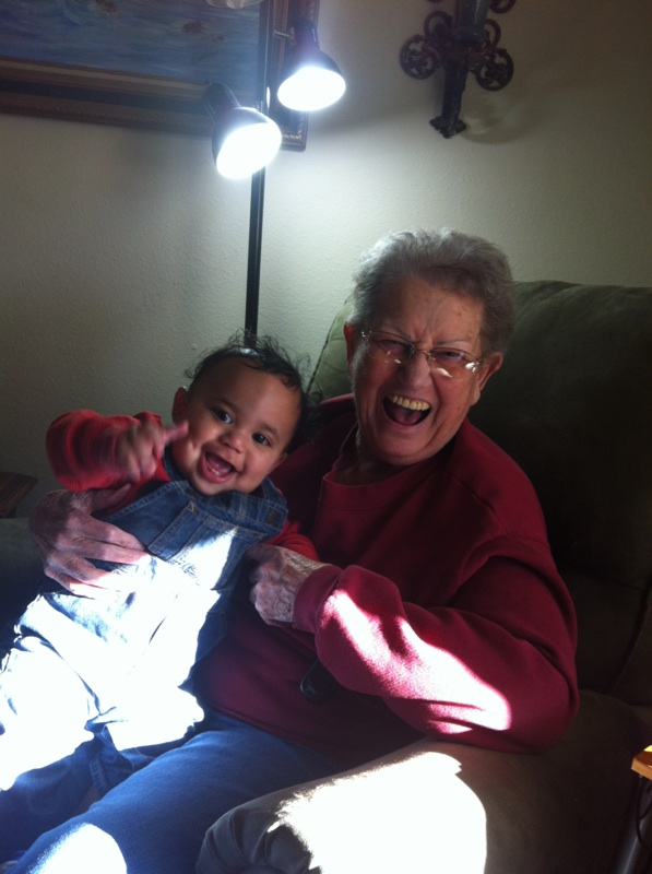 Photo: Esther Sabin and Isaiah Reece (one of the other reasons I am passionate!)