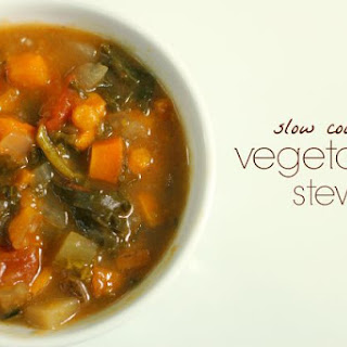 Slow Cooker Vegetable Stew.