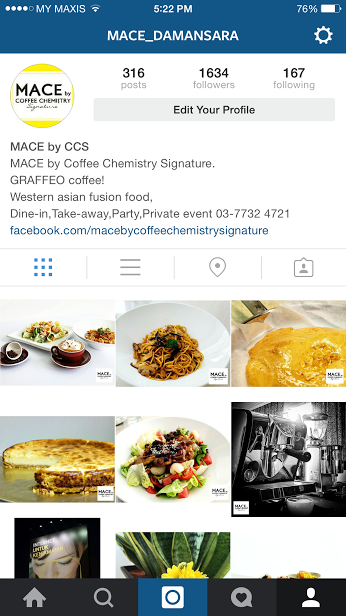 Check Out Mace Instagram Account Mace By Coffee Chemistry