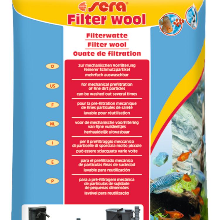 SERA Filter Wool 250g