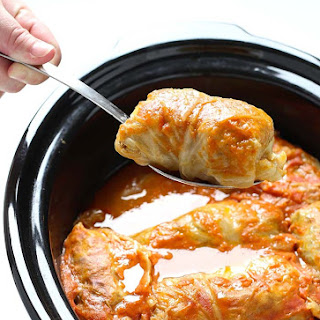 Crock Pot Stuffed Cabbage Rolls