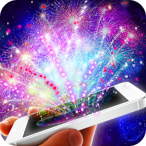 Real fireworks camera for PC and MAC
