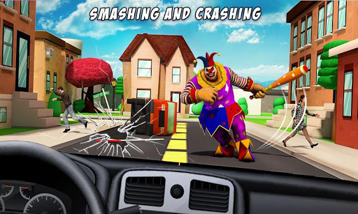 Creepy Clown Attack Screenshot