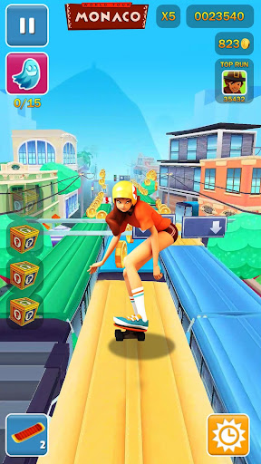 Subway Run 3D: Princes Surf Rush Runner 2019 screenshot 2