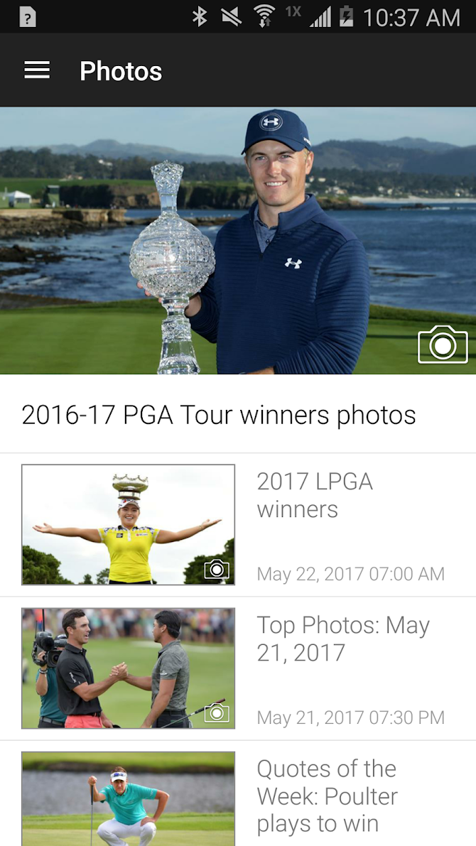 Golf Channel Mobile Android 3
