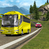 Coach Bus driving mania simulator games 2017