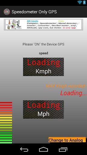 玩免費工具APP|下載Speedometer Only GPS app不用錢|硬是要APP