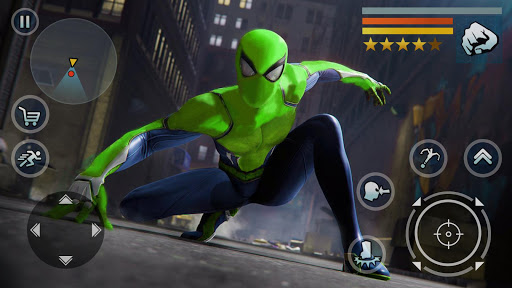 Spider Rope Hero - Vegas Crime city screenshots 9