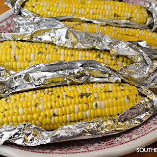 Roasted (Baked) Herbed Corn