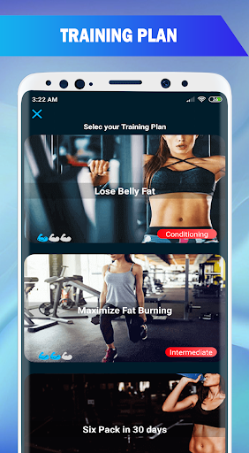 Lose Belly Fat in 30 Days : Lose Weight Pro App Report on
