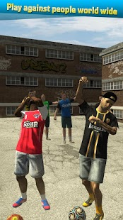 Urban Soccer Challenge Screenshot
