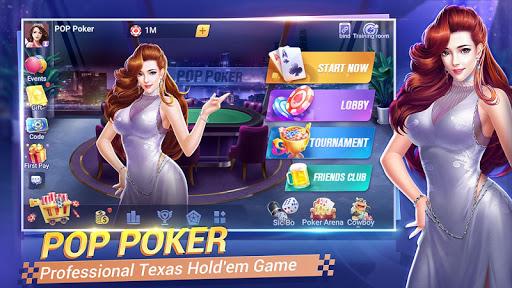 POP Poker u2014 Texas Holdem game online apkdebit screenshots 1