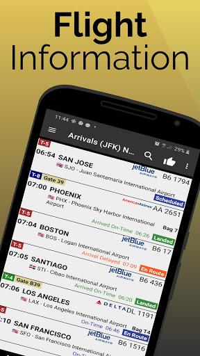 Madrid Barajas Airport: Flight Information screenshots 1