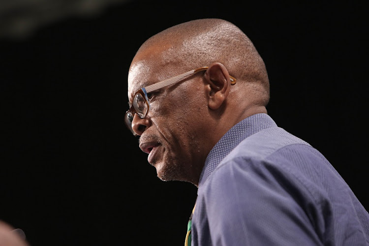 Secretary general of the ANC, Ace Magashule. Picture: ALAISTER RUSSELL/THE SUNDAY TIMES