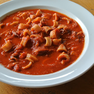 Calamari in Umido (Squid Braised in Tomatoes and Red Chili) Recipe