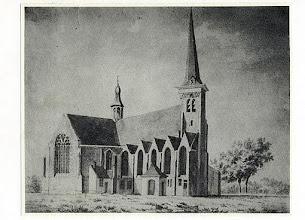 Photo: 1830  St. Martinuskerk oude prent