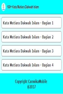 100+ Kata Mutiara Dakwah Islam - náhled