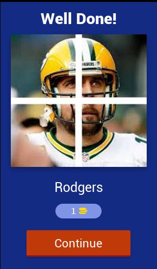 Скриншот American Football Players Quiz