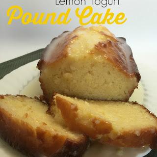 Lemon Yogurt Pound Cake #Yogurtperfection.